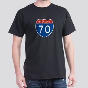 Interstate 70, USA Dark T-Shirt