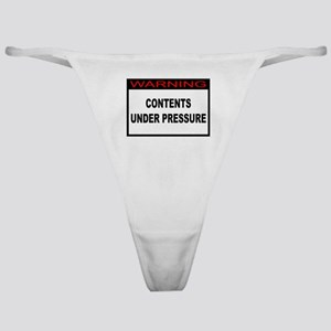 Contents Under Pressure Classic Thong