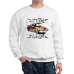 Sportscar 50th Birthday Gifts Sweatshirt