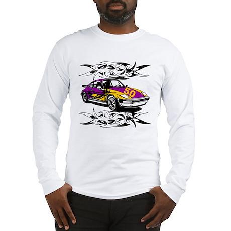 Sportscar 50th Birthday Gifts Long Sleeve T-Shirt