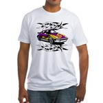 Sportscar 50th Birthday Gifts Fitted T-Shirt
