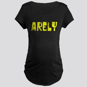Arely Faded (Gold) Maternity Dark T-Shirt