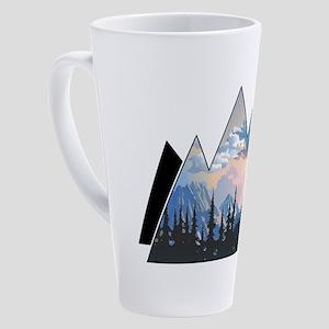 THE HORIZON 17 oz Latte Mug
