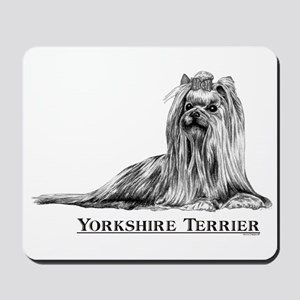 Yorkshire Terrier Dog Breed Mousepad