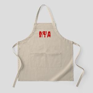 Kya Faded (Red) BBQ Apron