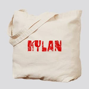 Kylan Faded (Red) Tote Bag