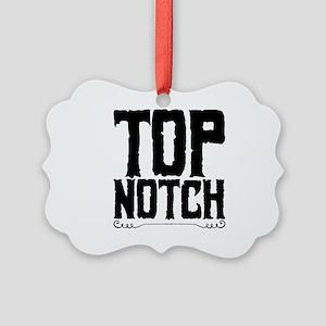 top notch Picture Ornament