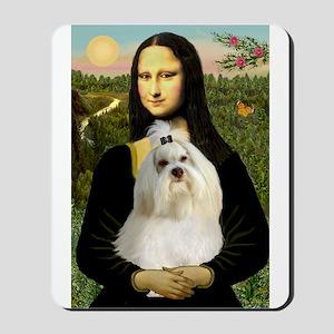 Mona Lisa & Her Havanese Mousepad