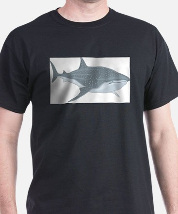 Whale Shark Ash Grey T-Shirt