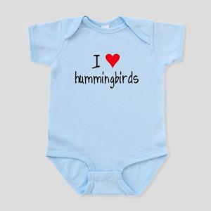 I LOVE Hummingbirds Infant Bodysuit