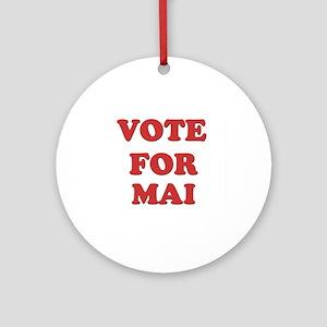 Vote for MAI Ornament (Round)