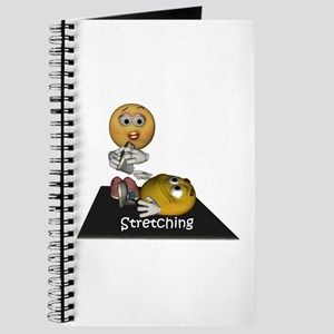 Smiley Stretching Journal