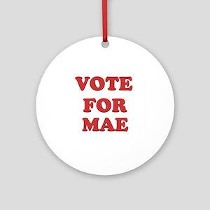 Vote for MAE Ornament (Round)