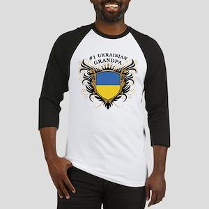 Number One Ukrainian Grandpa Baseball Jersey