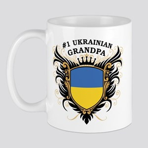 Number One Ukrainian Grandpa Mug