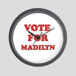Vote for MADILYN Wall Clock