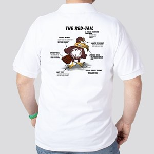 The Red-tail Golf Shirt