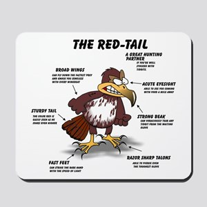 The Red-tail Mousepad