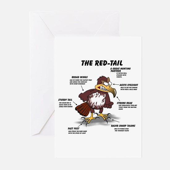 The Red-tail Greeting Cards (Pk of 10)