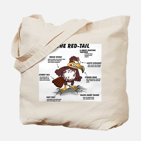 The Red-tail Tote Bag