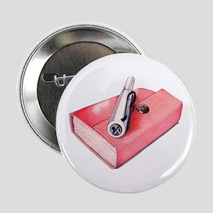 "Red Mini Sketchbook 2.25"" Button"