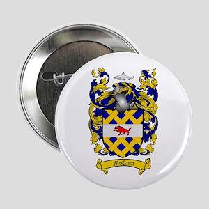 "McCann Family Crest 2.25"" Button (100 pack)"