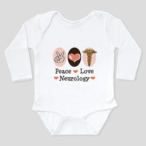 Peace Love Neurology Infant Bodysuit Body Suit