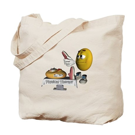 Smiley Physical Therapy Tote Bag