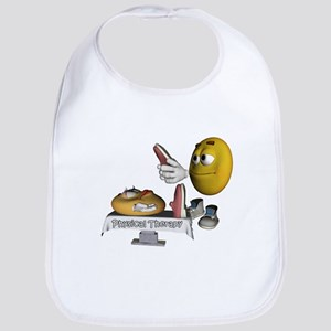 Smiley Physical Therapy Bib