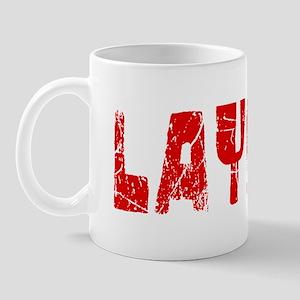 Layla Faded (Red) Mug