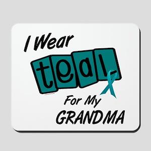 I Wear Teal 8.2 (Grandma) Mousepad