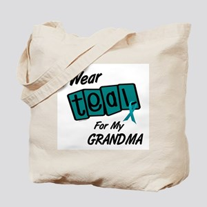 I Wear Teal 8.2 (Grandma) Tote Bag