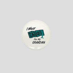 I Wear Teal 8.2 (Grandma) Mini Button