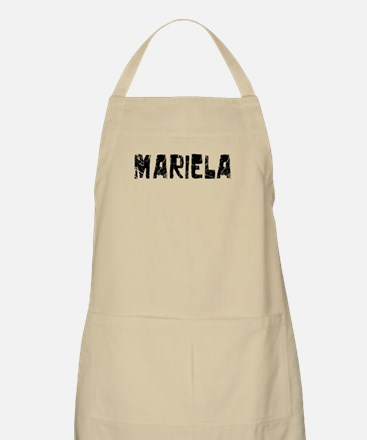 Mariela Faded (Black) BBQ Apron