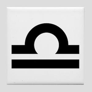 LIBRA (25) Tile Coaster