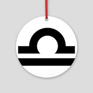 LIBRA (25) Ornament (Round)