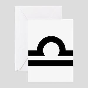 LIBRA (25) Greeting Card