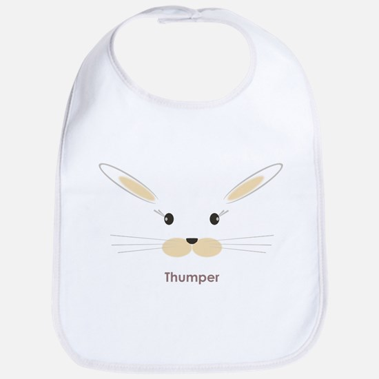 personalized bunny gifts Bib
