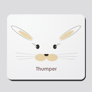 personalized bunny gifts Mousepad