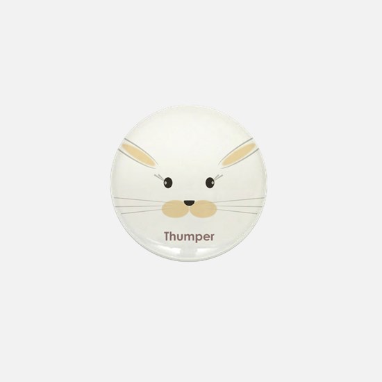 personalized bunny gifts Mini Button