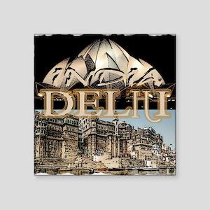 Delhi India Sticker