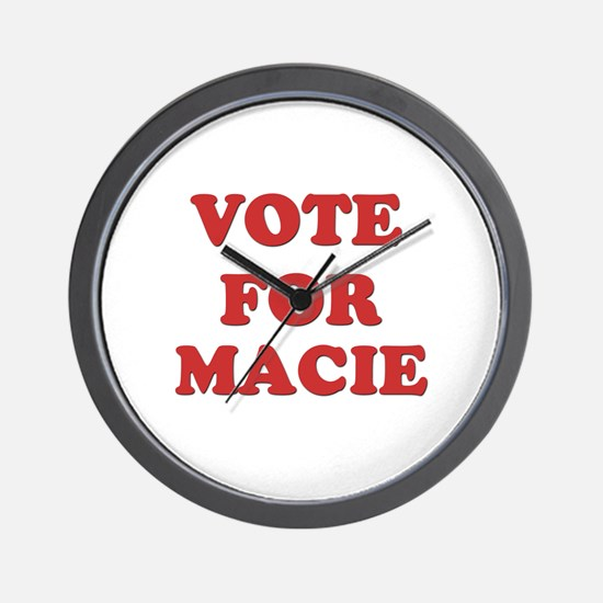 Vote for MACIE Wall Clock