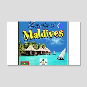 Maldives Wall Decal
