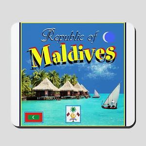Maldives Mousepad