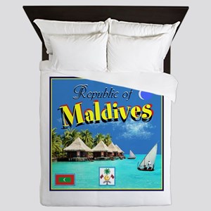 Maldives Queen Duvet