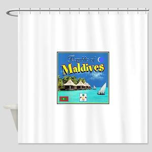 Maldives Shower Curtain