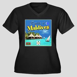 Maldives Plus Size T-Shirt