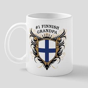 Number One Finnish Grandpa Mug