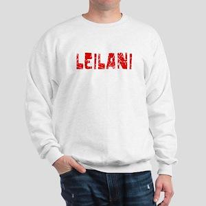 Leilani Faded (Red) Sweatshirt