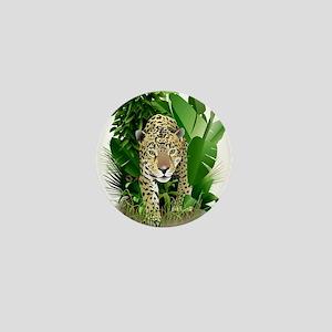 Leopard drawing Mini Button